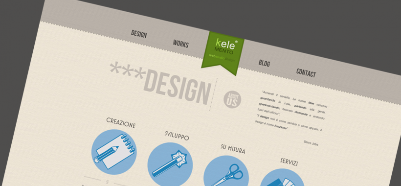 keleMENTO Web Studio Design